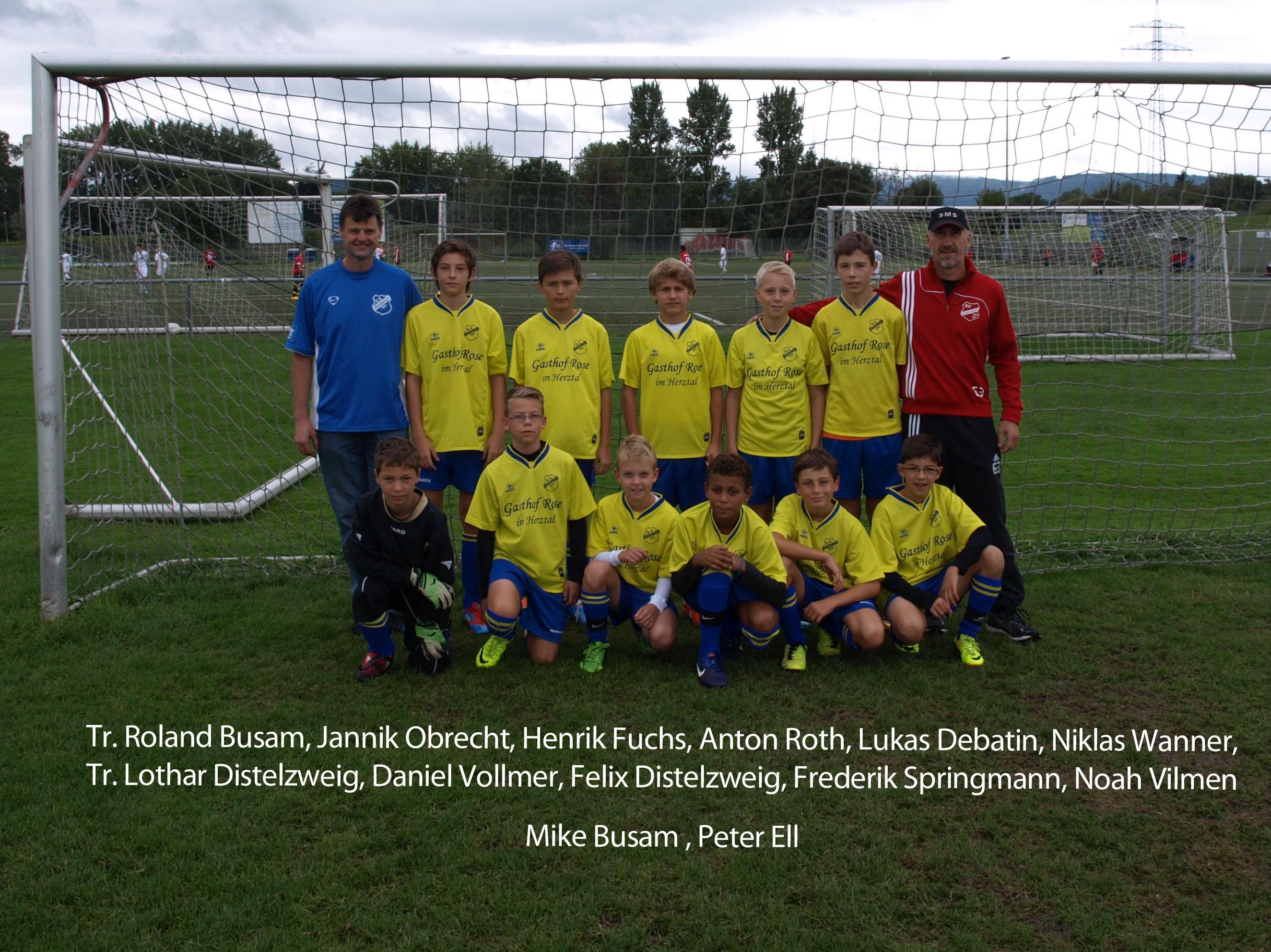D-Jugend SG Nußbach Saison 2013-14
