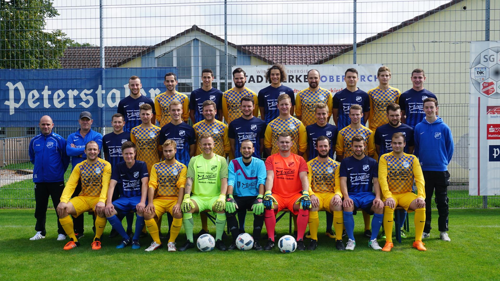 SV Nußbach Herren 2017-18